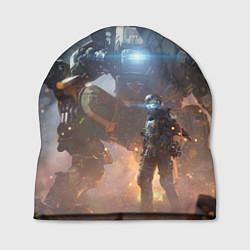 Шапка Titanfall: Attack Robots цвета 3D-принт — фото 1