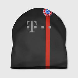 Шапка Bayern FC: Black 2018 цвета 3D-принт — фото 1