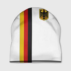 Шапка I Love Germany цвета 3D-принт — фото 1