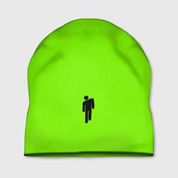 Шапка Billie Eilish: Green цвета 3D-принт — фото 1
