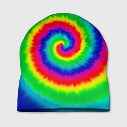 Шапка Tie dye цвета 3D — фото 1
