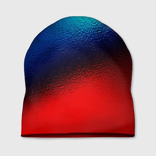 Шапка Синий и красный / 3D – фото 1