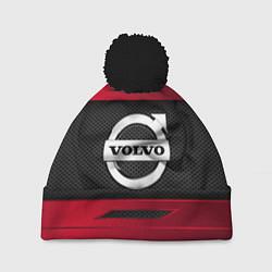 Шапка с помпоном Volvo Sport цвета 3D-черный — фото 1