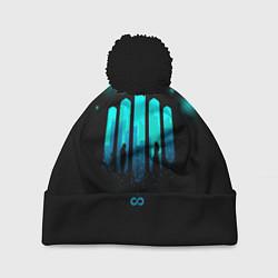 Шапка с помпоном The 100: City цвета 3D-черный — фото 1