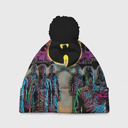 Шапка с помпоном Wu-Tang Clan: City цвета 3D-черный — фото 1