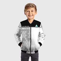 Бомбер детский Detroit: RK900 цвета 3D-черный — фото 2