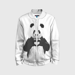 Детский бомбер Panda Love