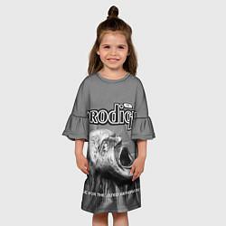 Платье клеш для девочки The Prodigy: Madness цвета 3D — фото 2