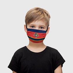Маска для лица детская Florida Panthers цвета 3D-принт — фото 1
