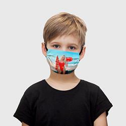 Маска для лица детская Baywatch: Pamela Anderson цвета 3D-принт — фото 1