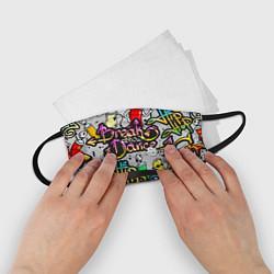 Маска для лица детская Break Show Dance цвета 3D-принт — фото 2