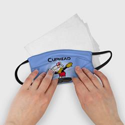 Маска для лица детская Cuphead Dab цвета 3D — фото 2