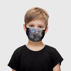 Маска для лица детская ANTHEM цвета 3D — фото 1