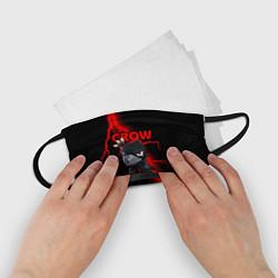 Маска для лица детская Brawl Stars CROW цвета 3D-принт — фото 2