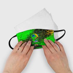 Маска для лица детская BRAWL STARS LEON цвета 3D — фото 2