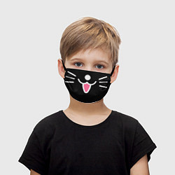 Маска для лица детская Hollow Knight цвета 3D — фото 1
