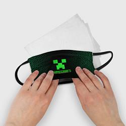 Маска для лица детская Minecraft цвета 3D — фото 2