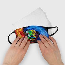 Маска для лица детская BRAWL STARS LEON SKINS цвета 3D-принт — фото 2
