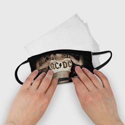 Маска для лица детская AC/DC Girl цвета 3D-принт — фото 2