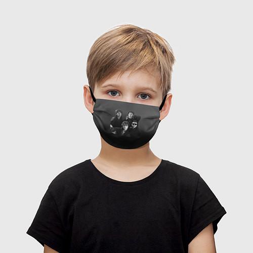 Детская маска для лица Группа Кино / 3D – фото 1
