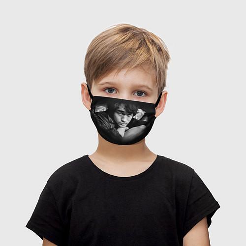 Детская маска для лица Виктор Цой / 3D – фото 1