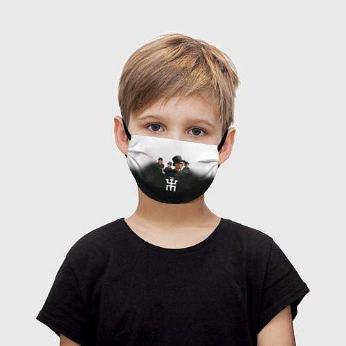 Детская маска для лица Пикник / 3D – фото 1