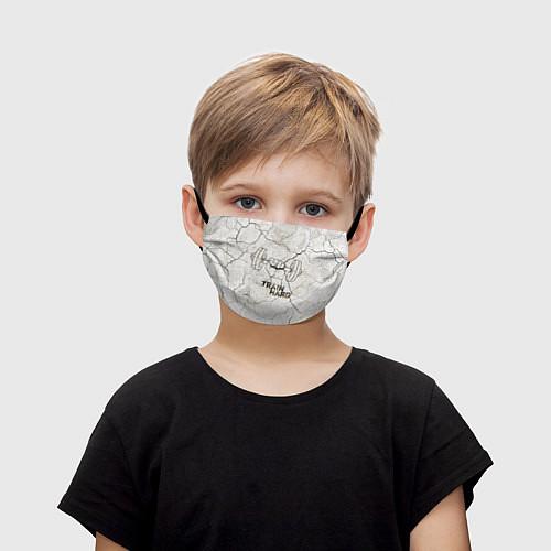 Детская маска для лица Train hard / 3D – фото 1
