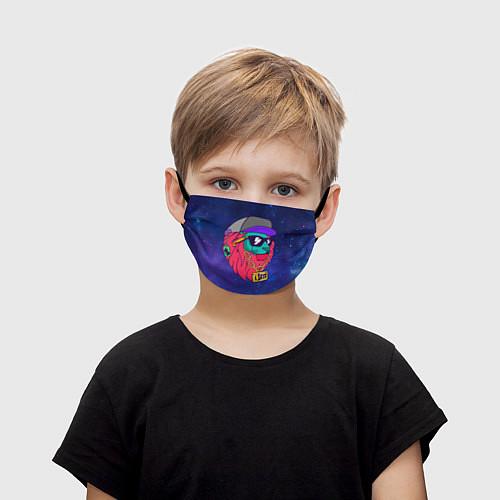 Детская маска для лица Лев SWAG / 3D – фото 1