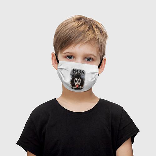 Детская маска для лица KISS: Adult demon wig / 3D – фото 1
