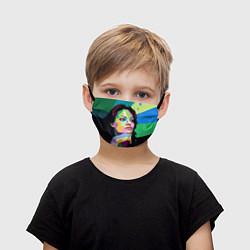 Маска для лица детская Angelina Jolie: Art цвета 3D — фото 1