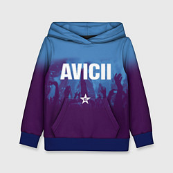 Толстовка-худи детская Avicii Star цвета 3D-синий — фото 1