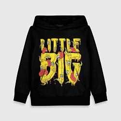 Толстовка-худи детская Little Big цвета 3D-черный — фото 1