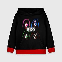 Детская толстовка KISS: Acid Colours