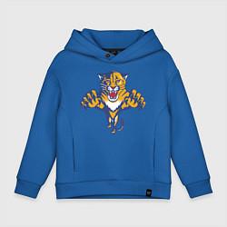 Толстовка оверсайз детская Florida Panthers цвета синий — фото 1