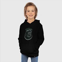 Толстовка детская хлопковая Гарри Поттер цвета черный — фото 2