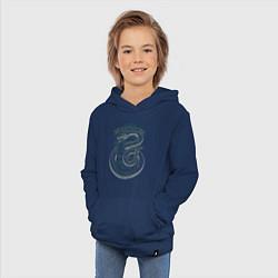 Толстовка детская хлопковая Гарри Поттер цвета тёмно-синий — фото 2