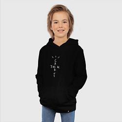 Толстовка детская хлопковая CACTUS JACK цвета черный — фото 2