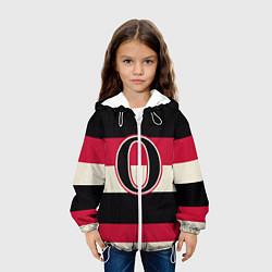 Куртка с капюшоном детская Ottawa Senators O цвета 3D-белый — фото 2