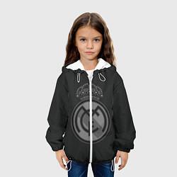 Куртка с капюшоном детская Real Madrid цвета 3D-белый — фото 2