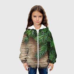 Куртка 3D с капюшоном для ребенка Дуx рождества - фото 2