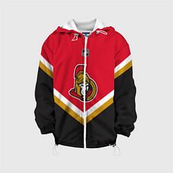 Куртка с капюшоном детская NHL: Ottawa Senators цвета 3D-белый — фото 1