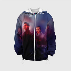 Куртка с капюшоном детская Teen Wolves цвета 3D-белый — фото 1
