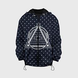 Куртка с капюшоном детская Illuminati цвета 3D-черный — фото 1