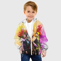 Куртка с капюшоном детская Coldplay цвета 3D-белый — фото 2