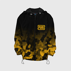 Куртка с капюшоном детская PUBG: Military Honeycomb цвета 3D-черный — фото 1