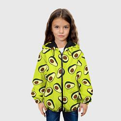 Куртка с капюшоном детская Стиль авокадо цвета 3D-черный — фото 2