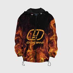 Куртка с капюшоном детская OOMPH! цвета 3D-черный — фото 1