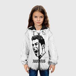 Куртка 3D с капюшоном для ребенка Juve Ronaldo - фото 2