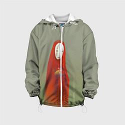 Детская 3D-куртка с капюшоном с принтом Унесенные призраками, цвет: 3D-белый, артикул: 10161273705458 — фото 1