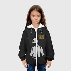 Куртка с капюшоном детская PUBG: Online цвета 3D-белый — фото 2